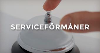 Serviceförmåner